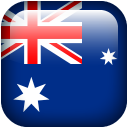 128x128px size png icon of Australia