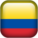 128x128px size png icon of Colombia