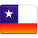 128x128px size png icon of Chile Flag