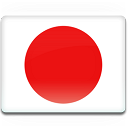 128x128px size png icon of Japan Flag