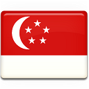 128x128px size png icon of Singapore Flag