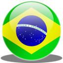 128x128px size png icon of Brasil