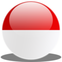 128x128px size png icon of Indonesia