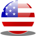 128x128px size png icon of Usa