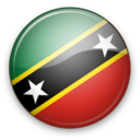 128x128px size png icon of St. Kitts & Nevis