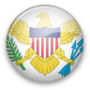 128x128px size png icon of Virgin Islands
