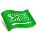 128x128px size png icon of Arabia Flag