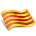 128x128px size png icon of Catalunya Catalonia Flag