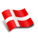 128x128px size png icon of Danmark Denmark Flag