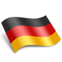 128x128px size png icon of Deutschland Germany Flag