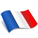128x128px size png icon of France Flag
