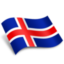 128x128px size png icon of Island Flag
