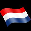 128x128px size png icon of Nederlands Netherlands Flag
