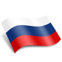 128x128px size png icon of Russia Flag