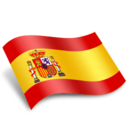 128x128px size png icon of Spain Espanya Flag