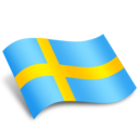 128x128px size png icon of Sweden Flag