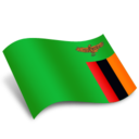 128x128px size png icon of Zambia Flag