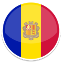 128x128px size png icon of Andorra