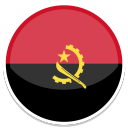 128x128px size png icon of Angola