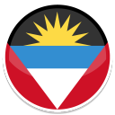 128x128px size png icon of Antigua and Barbuda