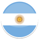 128x128px size png icon of Argentina