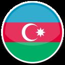 128x128px size png icon of Azerbaijan