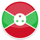 128x128px size png icon of Burundi