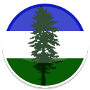 128x128px size png icon of Cascadia
