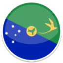 128x128px size png icon of Christmas Island