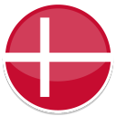 128x128px size png icon of Denmark