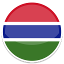 128x128px size png icon of Gambia