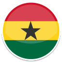128x128px size png icon of Ghana