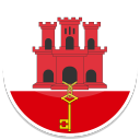 128x128px size png icon of Gibraltar