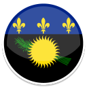 128x128px size png icon of Guadeloupe