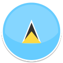 128x128px size png icon of Saint lucia