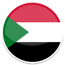 128x128px size png icon of Sudan