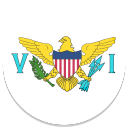 128x128px size png icon of United States Virgin Islands