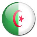 128x128px size png icon of Algeria Flag