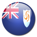 128x128px size png icon of Anguilla Flag