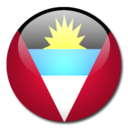 128x128px size png icon of Antigua and Barbuda Flag