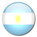 128x128px size png icon of Argentina Flag