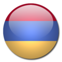 128x128px size png icon of Armenia Flag