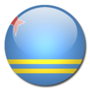 128x128px size png icon of Aruba Flag