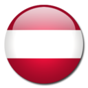 128x128px size png icon of Austria Flag