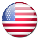 128x128px size png icon of Baker Island Flag