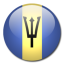 128x128px size png icon of Barbados Flag