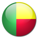 128x128px size png icon of Benin Flag