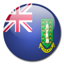 128x128px size png icon of British Virgin Islands Flag