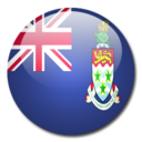 128x128px size png icon of Cayman Islands Flag