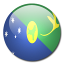 128x128px size png icon of Christmas Island Flag